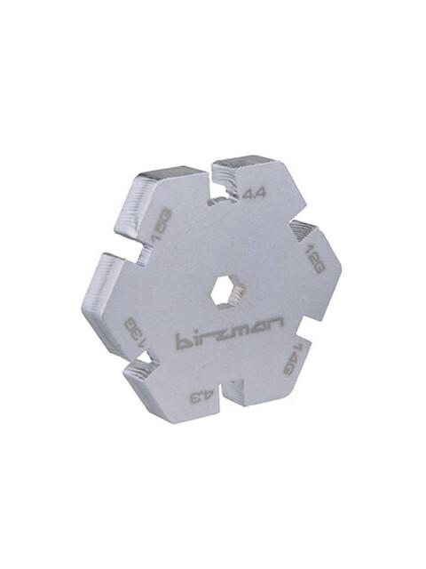 Birzman Nippelspanner silber